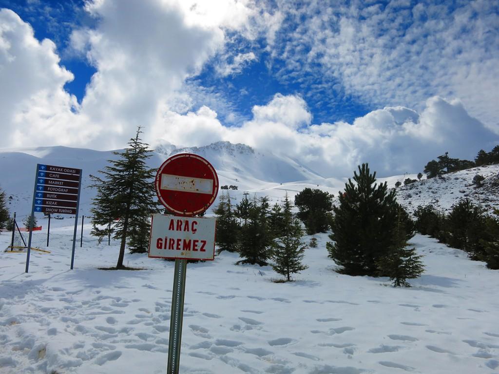 Davraz Kayak Merkezi, İlk Telesyej Başlangıç (Foto: Erdi Yılmaz)