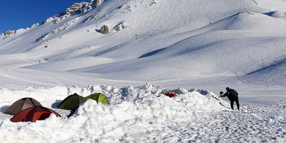 Davraz Dağı Kamp Tırmanış